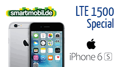 Apple iPhone 6s + smartmobil All-in + LTE