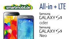 Galaxy S5 oder S5 Neo + smartmobil All-in + LTE