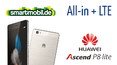 Huawei P8 Lite + smartmobil All-in + LTE