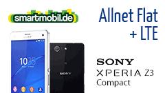 Sony Xperia Z3 Compact + PremiumSIM Smart 1000
