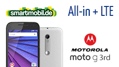 Motorola Moto G LTE 3rd Edition + smartmobil All-in + LTE