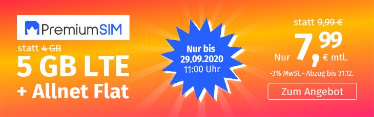 20200918 psim NL Aktion 5GB 7 99 730